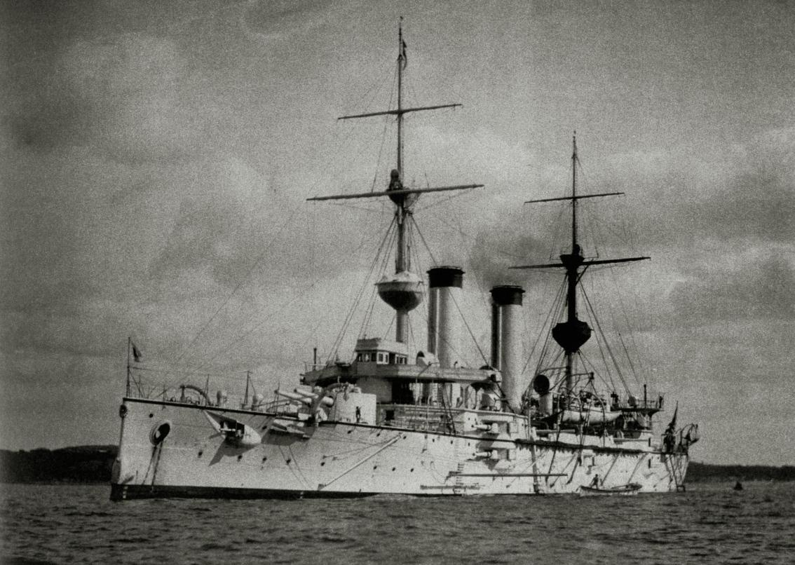 Броненосный крейсер Asama. Источник: tsushima.su