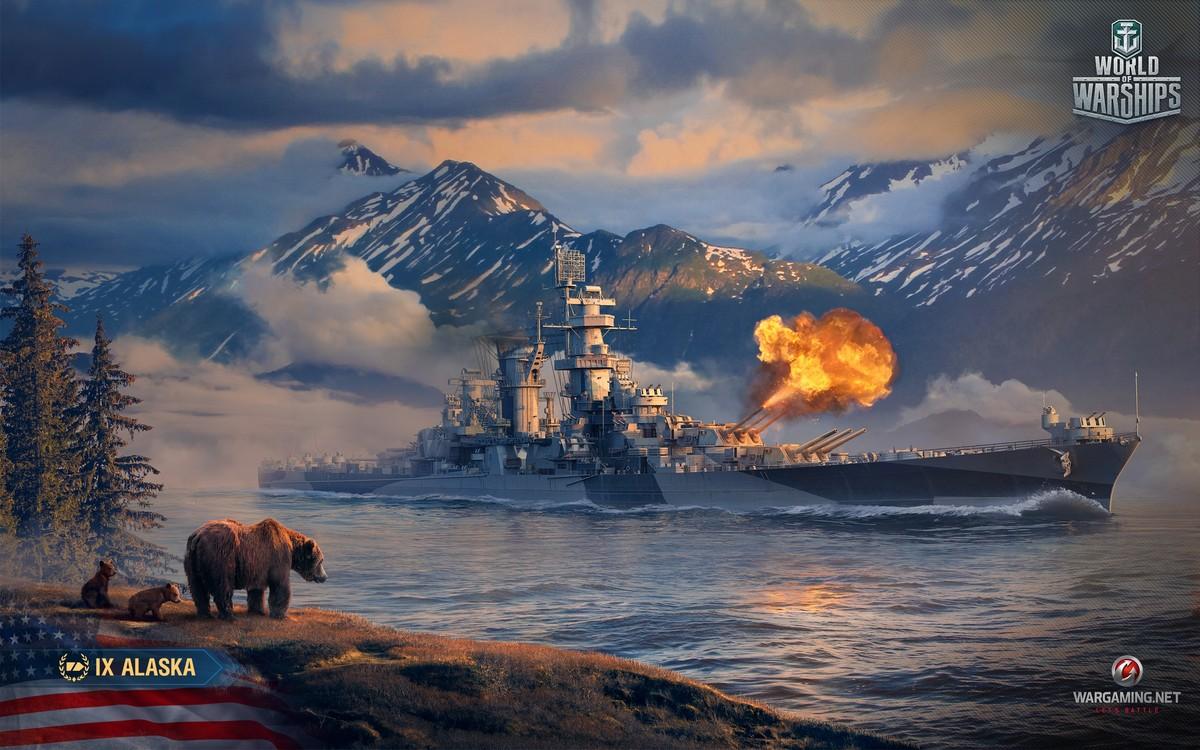 Обои wg, wargaming net, wows, мир кораблей, шторм. Игры foto 10