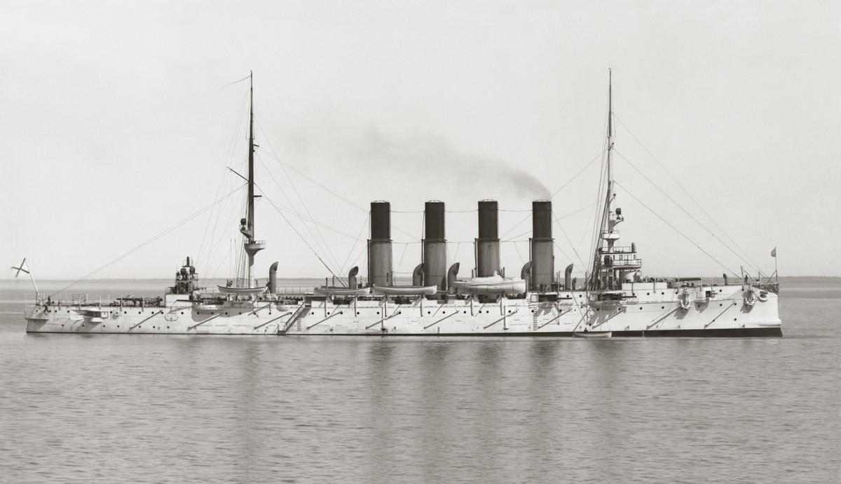 Крейсер «Варяг» в июне 1901 года. Источник: kreiser.unoforum.pro