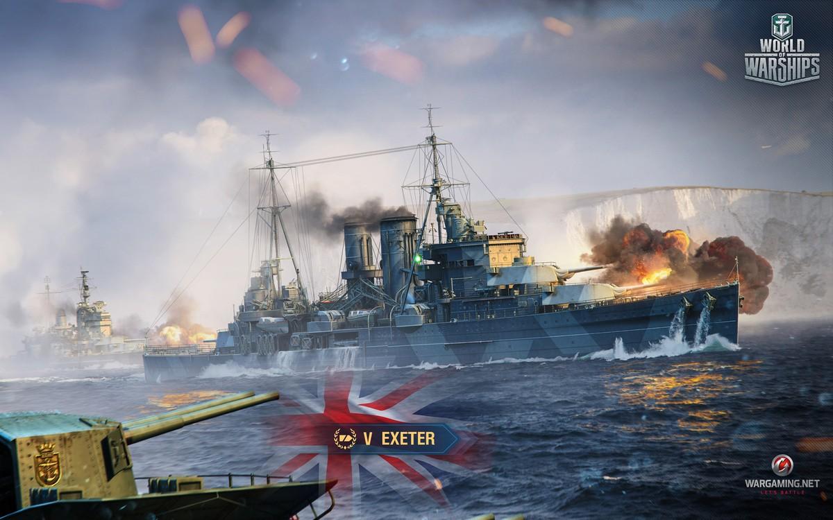 Обои wg, wargaming net, wows, мир кораблей, шторм. Игры foto 13
