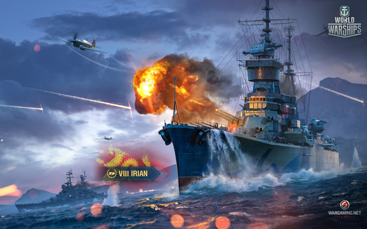Обои wg, wargaming net, wows, мир кораблей, шторм. Игры foto 15