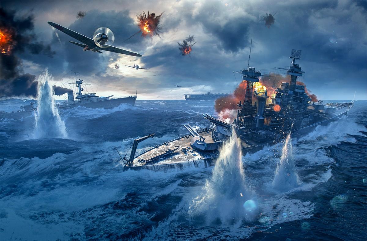 Картинки на рабочий стол морских боев