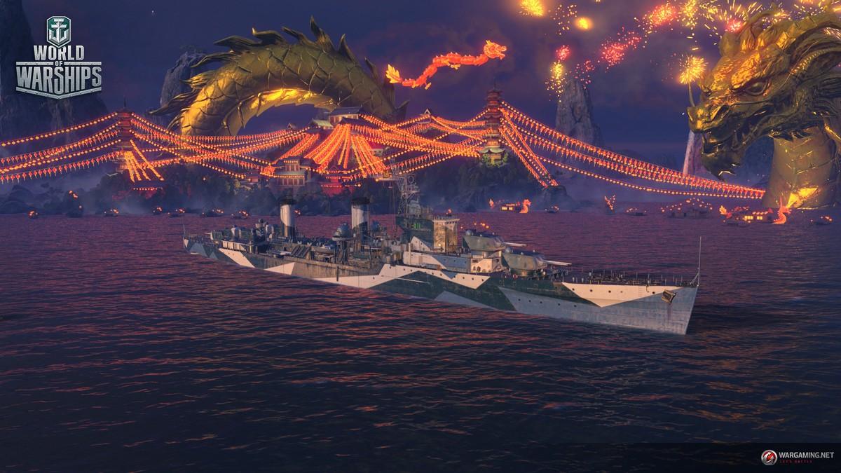 В World of Warships вышло обновление 0.8.0